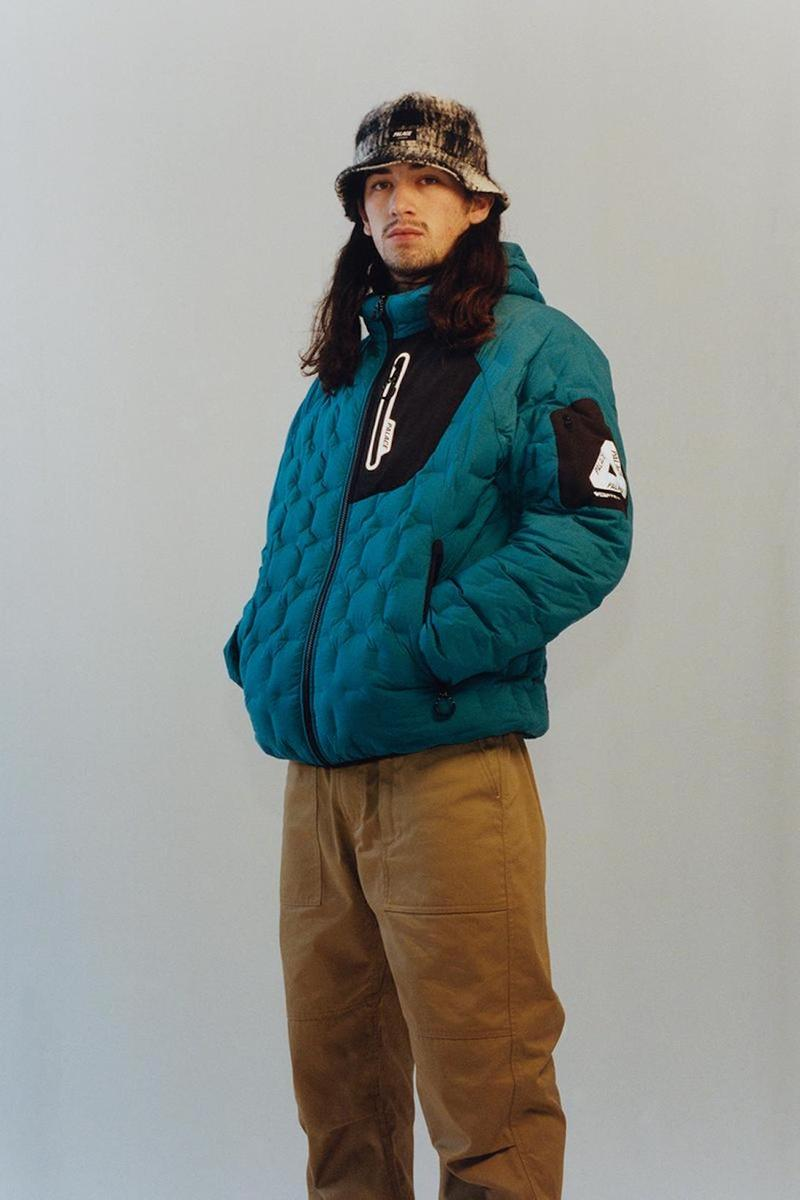 palace skateboards spring summer collection lookbook bucket hat outerwear gore tex jacket pants
