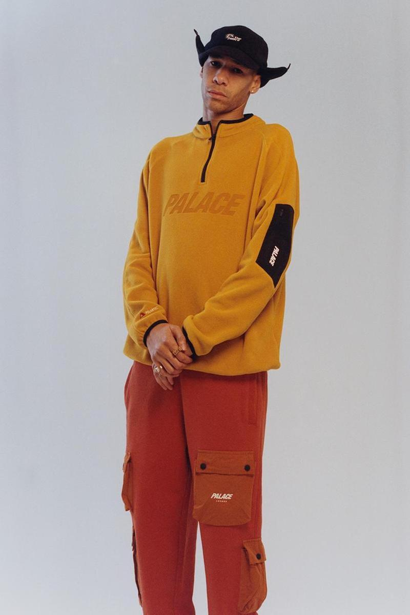 palace skateboards spring summer collection lookbook hat sweater pants