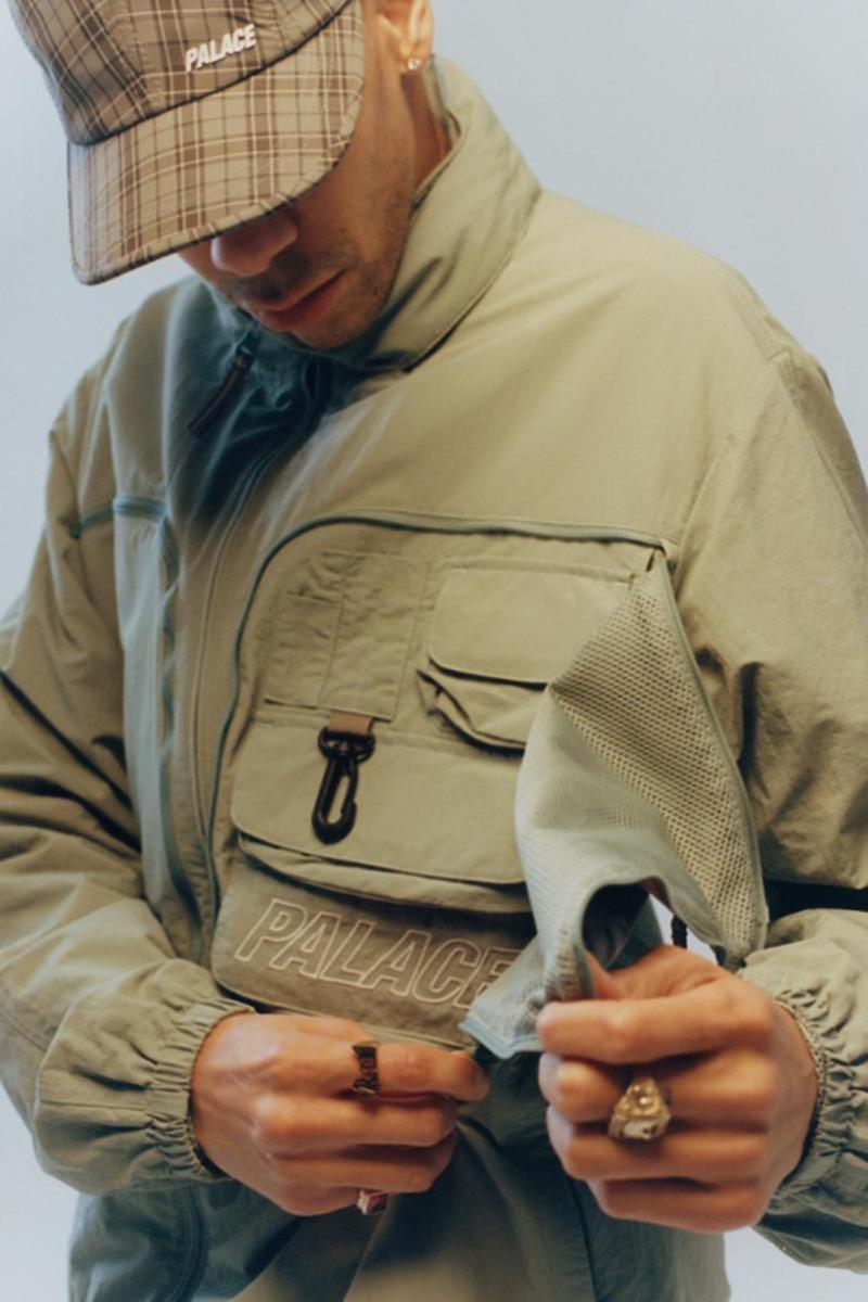 palace skateboards spring summer collection lookbook hat cap jacket outerwear