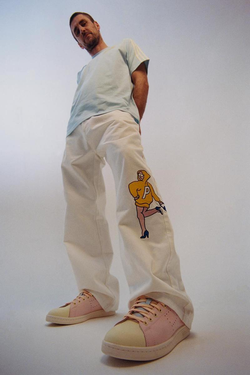 palace skateboards spring summer collection lookbook pants tee t shirt sneakers