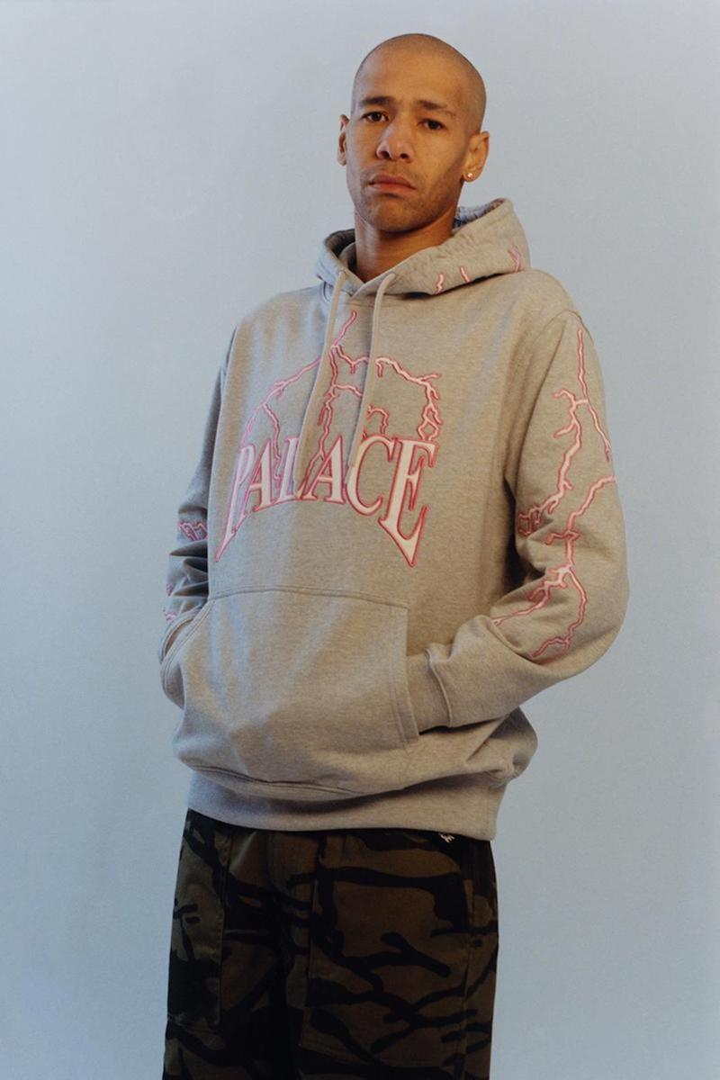 palace skateboards spring summer collection lookbook hoodie pants
