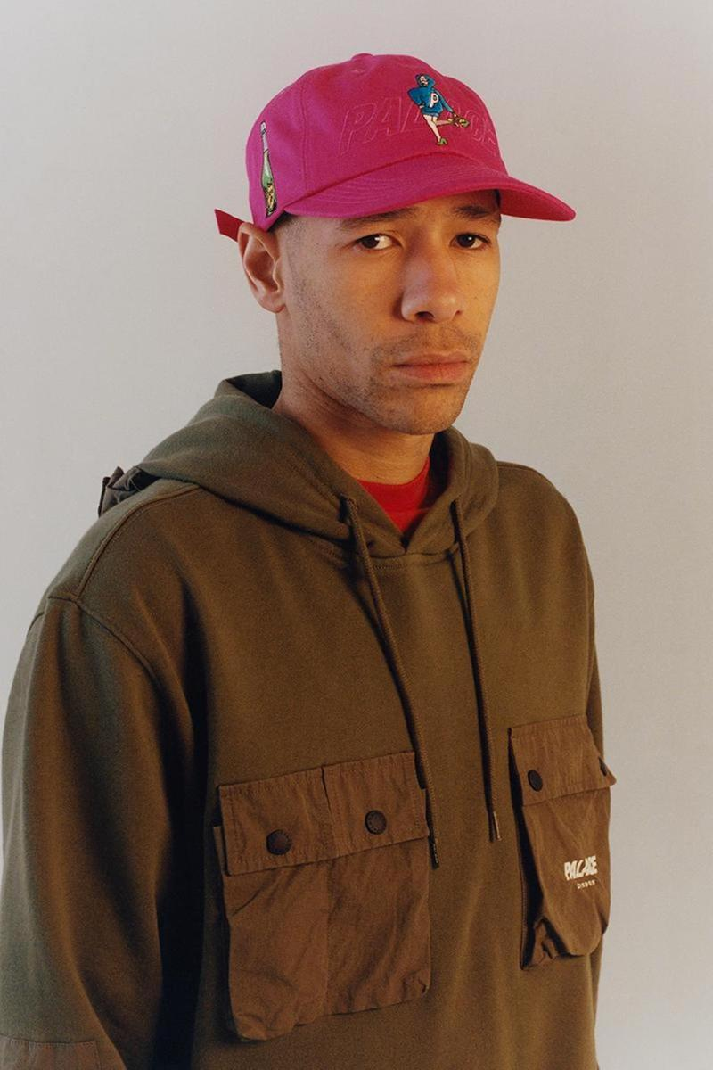 palace skateboards spring summer collection lookbook hat cap hoodie