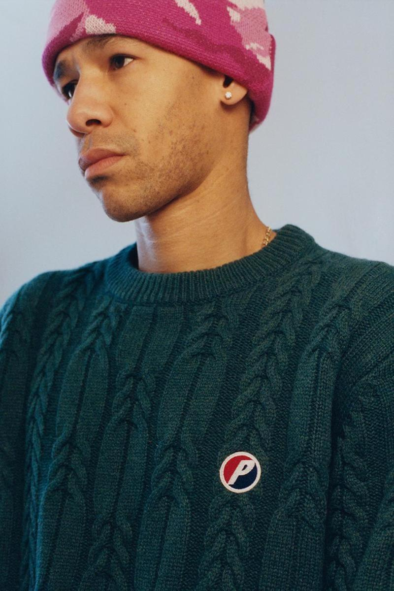 palace skateboards spring summer collection lookbook beanie sweater