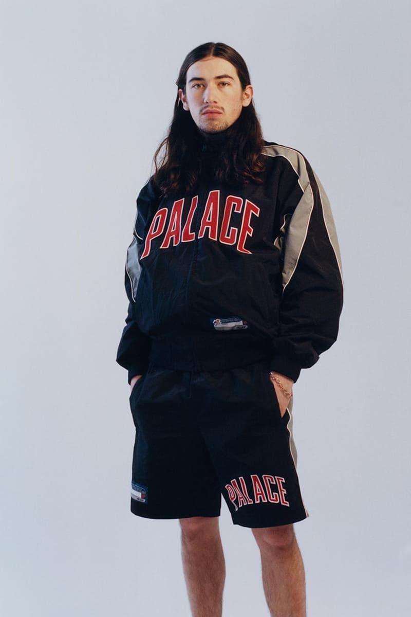palace skateboards spring summer collection lookbook jacket shorts