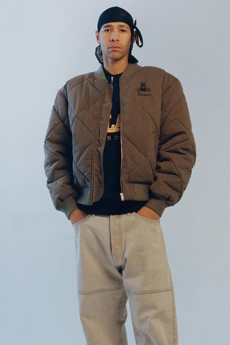 palace skateboards spring summer collection lookbook outerwear jacket pants
