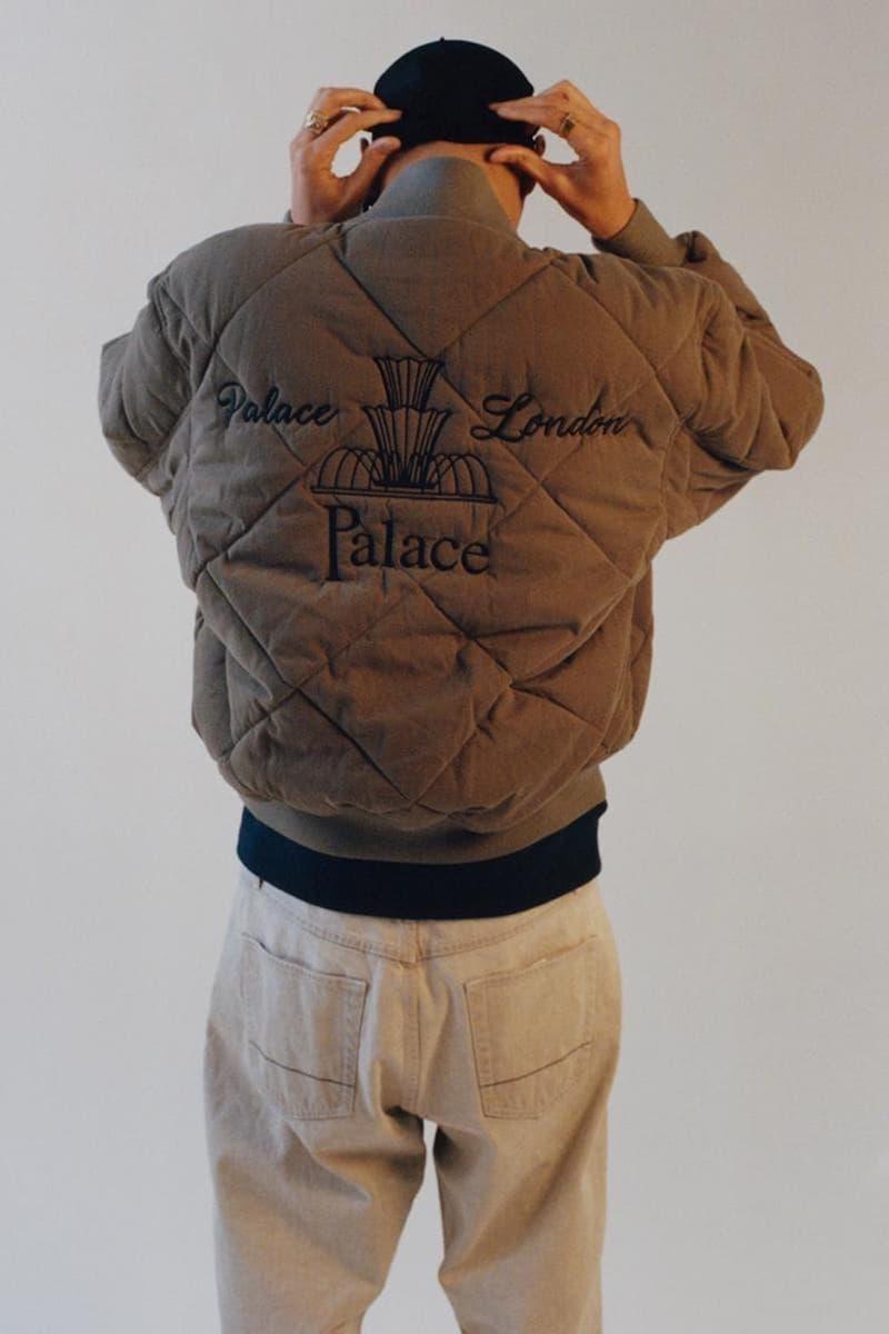 palace skateboards spring summer collection lookbook outerwear jacekt pants