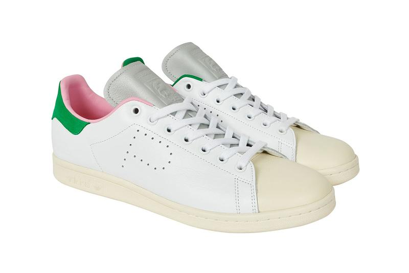 Palace x adidas Originals Stan Smith Collaboration Release Pastel Sneaker Shoe Pink Yellow Blue
