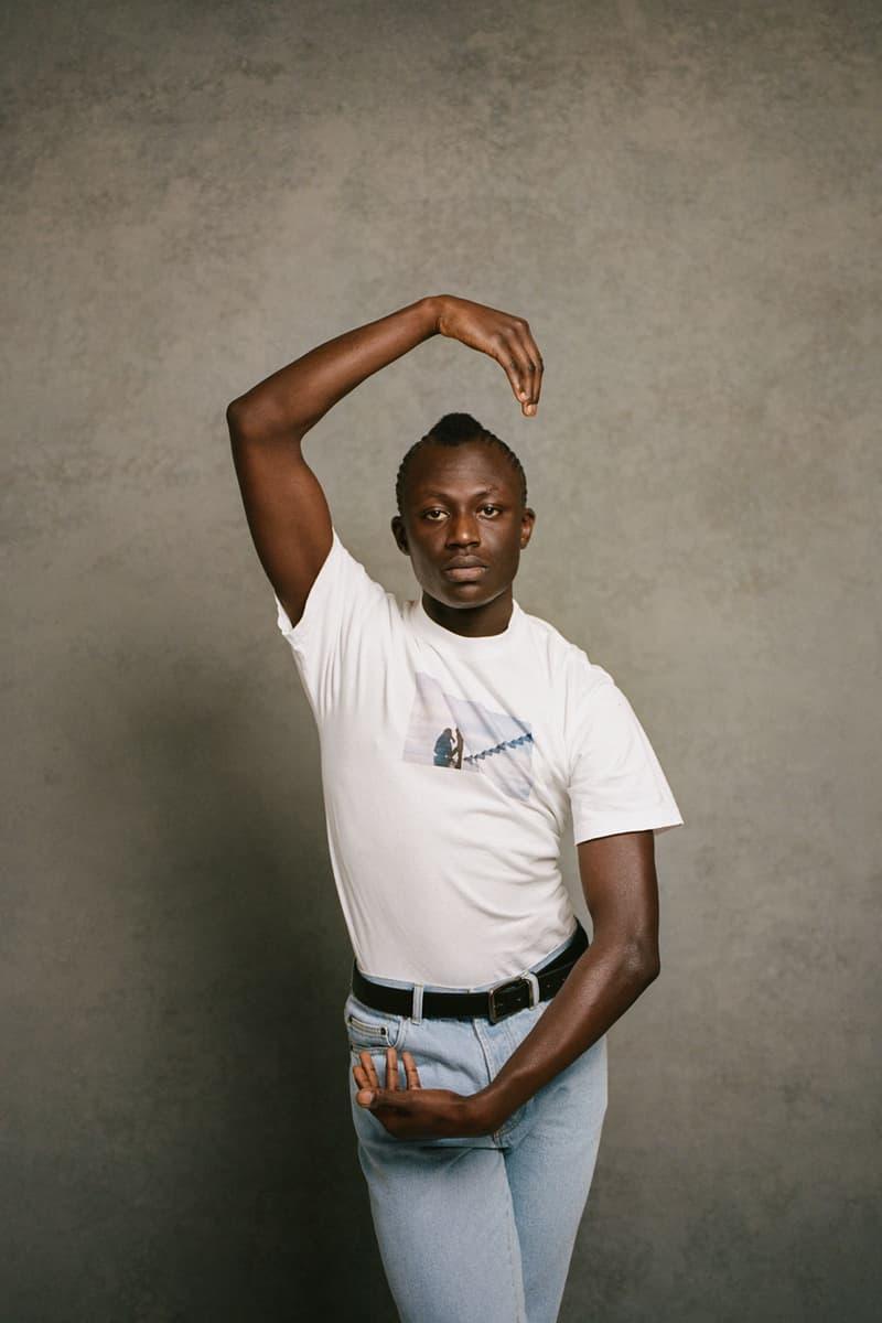places plus faces 2021 first drop white t-shirt photo graphics jeans belt