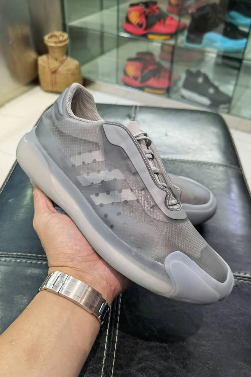 prada adidas ap luna rossa 21 sneaker collaboration gray colorway kicks shoes sneakerhead footwear