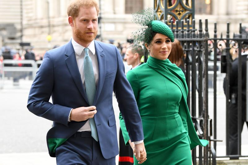 Prince Harry Meghan Markle Westminster Abbey 2020