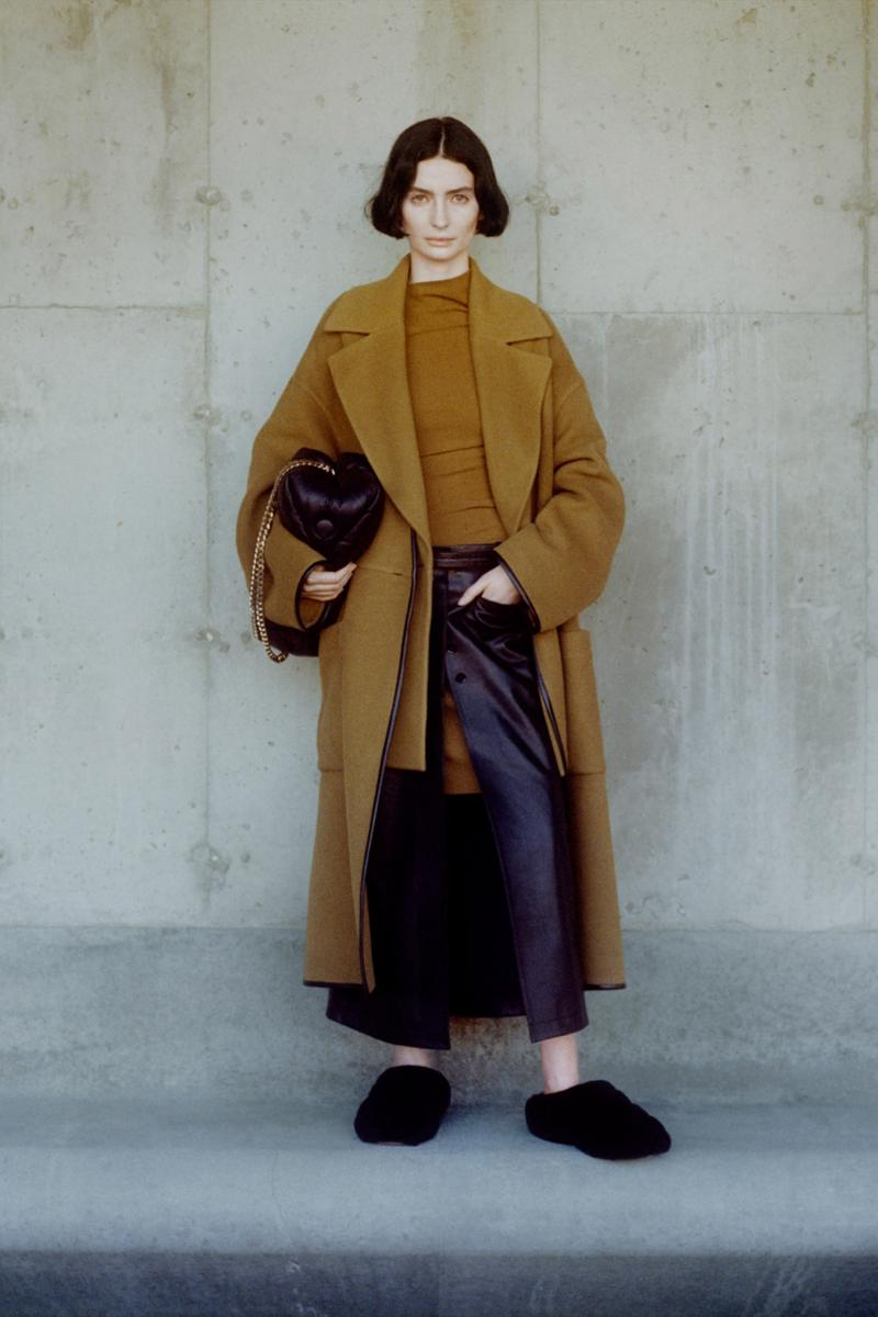 proenza schouler fall winter 2021 fw21 collection lookbook new york fashion week nyfw coat trousers