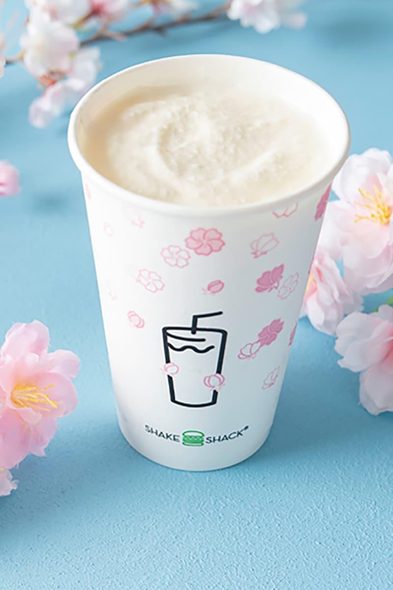 shake shack japan sakura cherry blossom drinks shack-ura