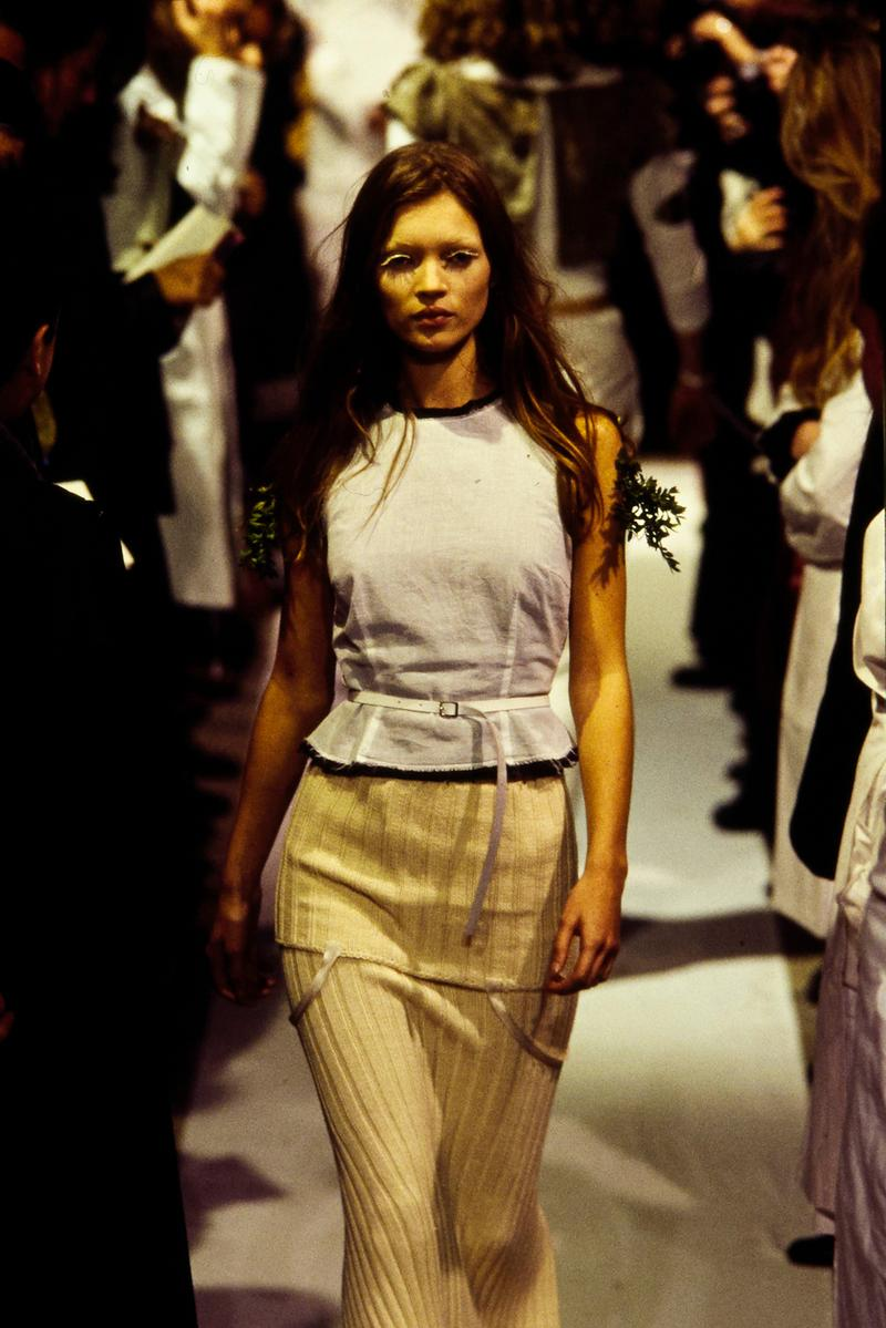 Maison Margiela Spring/Summer 1993 Show Collection Kate Moss