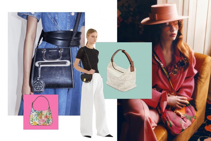 Best Spring/Summer 2021 Luxury Designer Bags Louis Vuitton Fendi Loewe Alexander McQueen Gucci