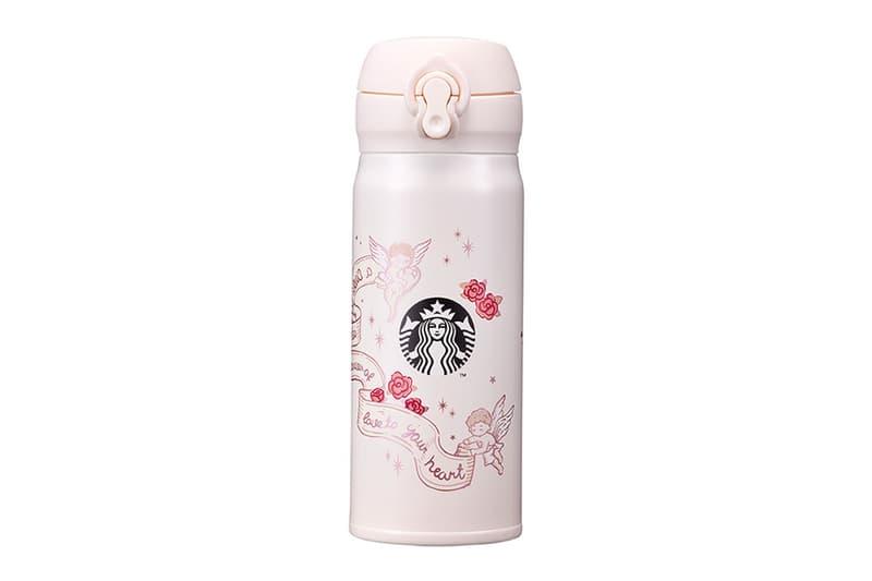 starbucks korea valentines day merch collection cupid jnl bottle flask