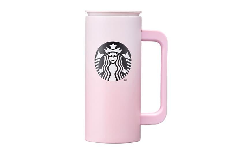 starbucks korea valentines day merch collection pink newton tumbler cup