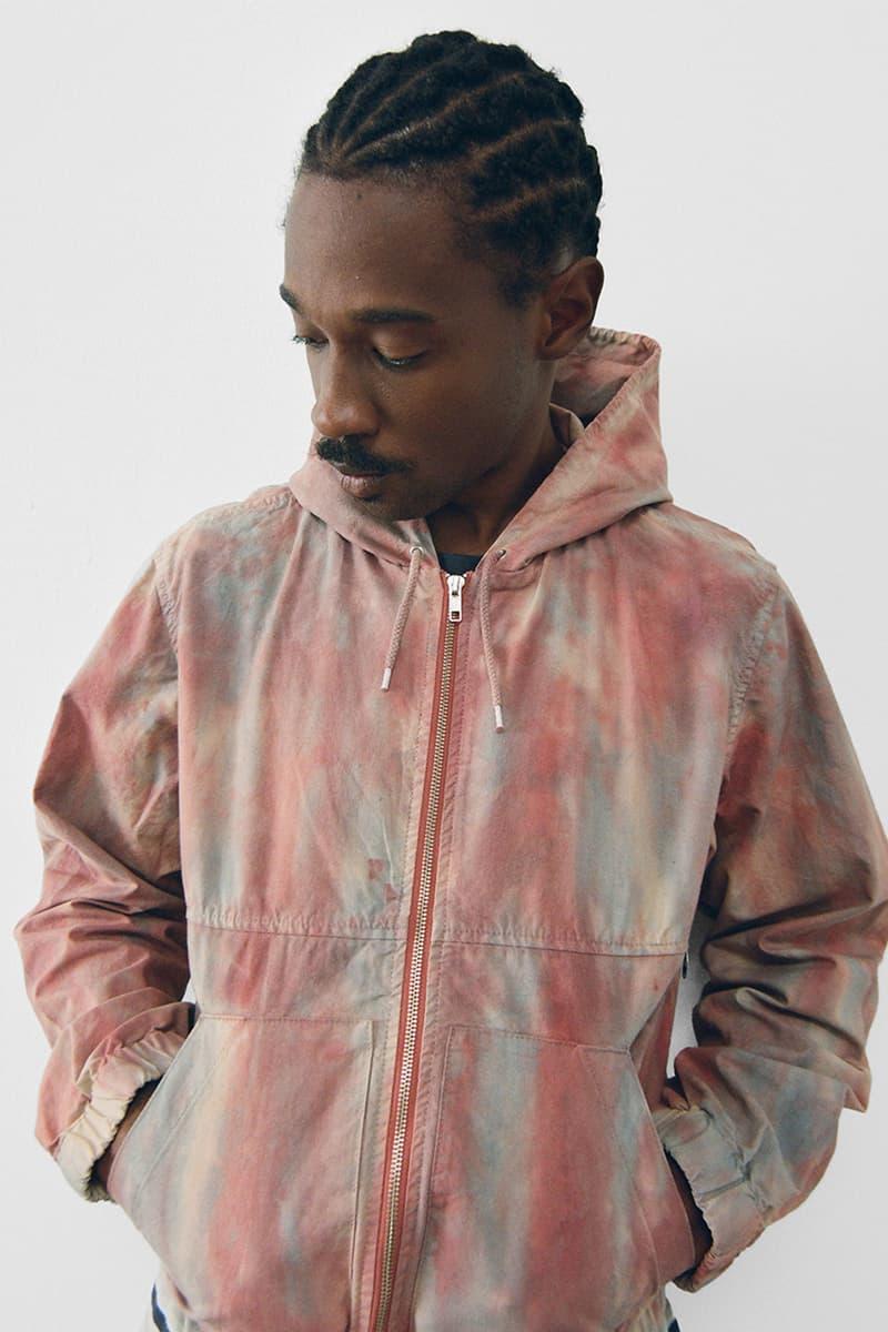 stussy spring 2021 collection lookbook womenswear tie dye hoodie zipper