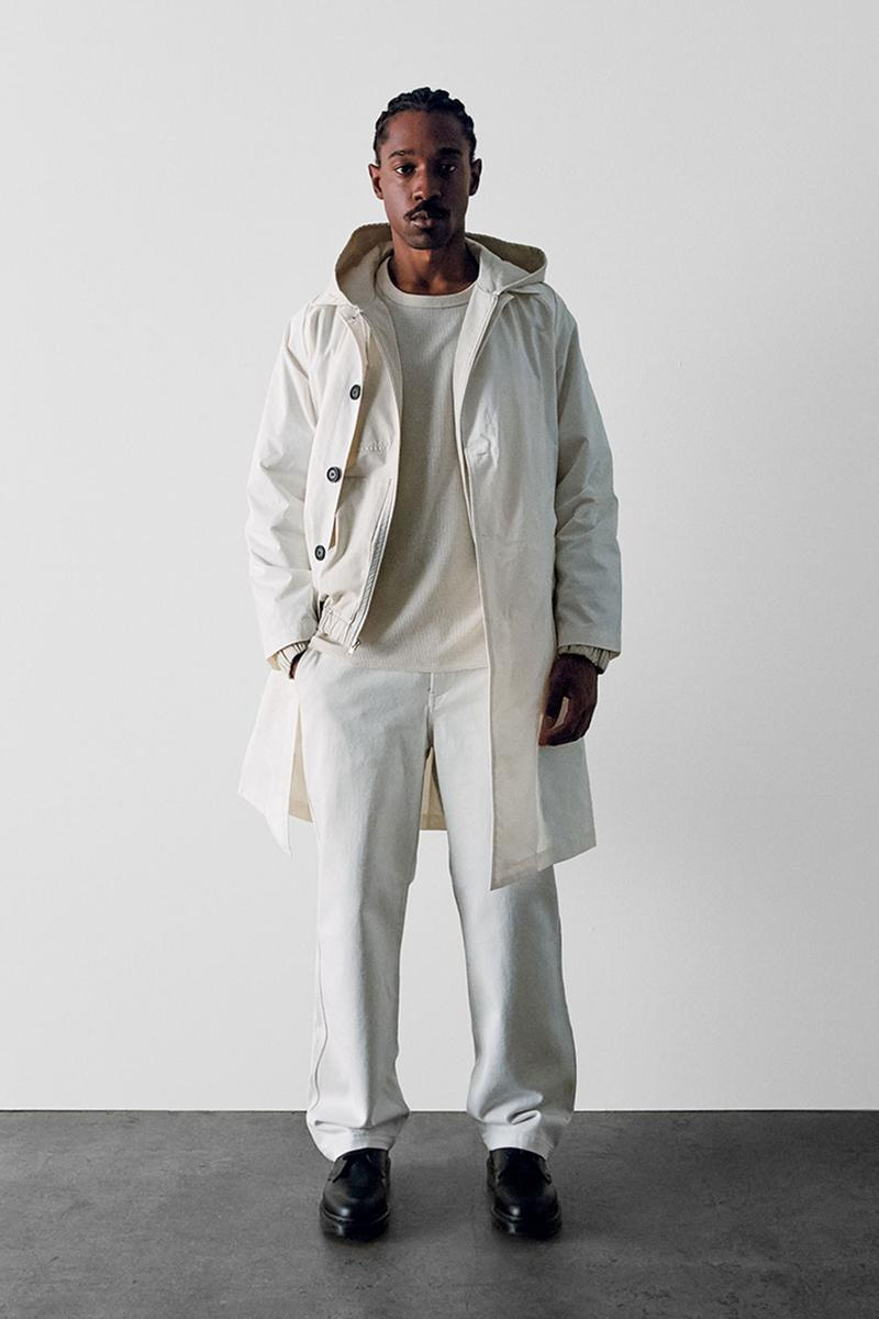 stussy spring 2021 collection lookbook womenswear white jacket pants
