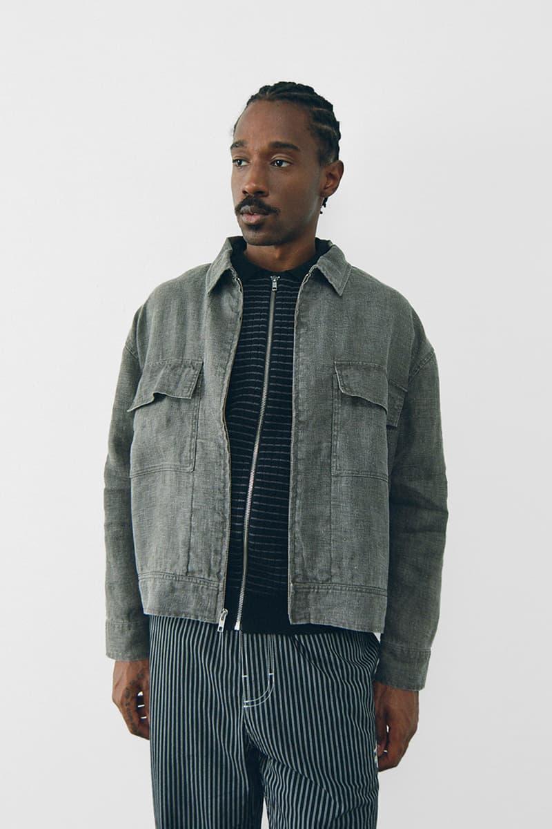 stussy spring 2021 collection lookbook womenswear denim jacket washed