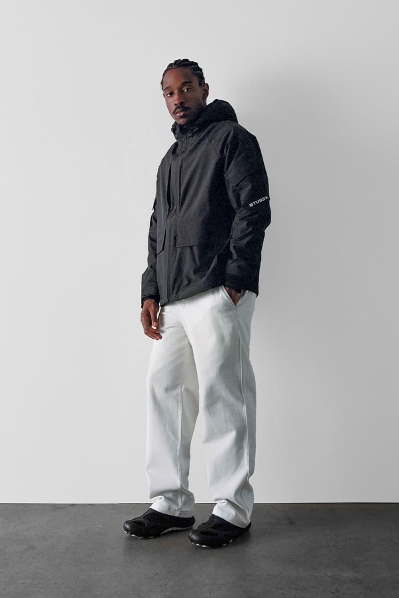 stussy spring 2021 collection lookbook womenswear jacket hoodie