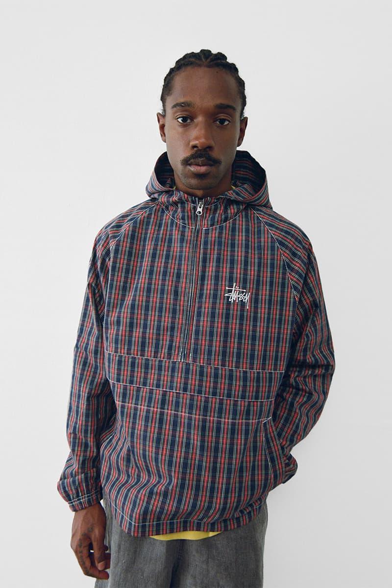 stussy spring 2021 collection lookbook womenswear anorak hoodie jacket