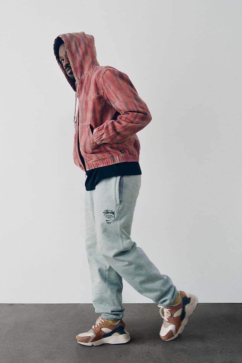 stussy spring 2021 collection lookbook womenswear hoodie jeans sneakers