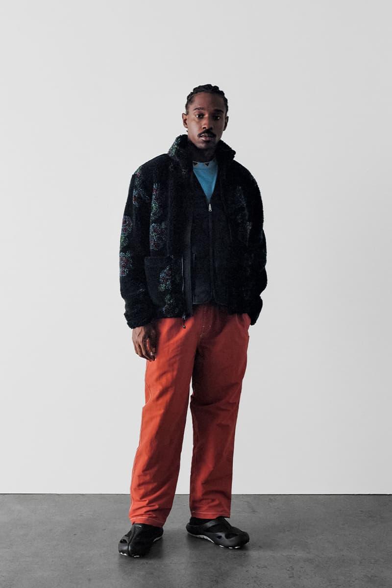 stussy spring 2021 collection lookbook womenswear fleece jacket pants trousers jeans