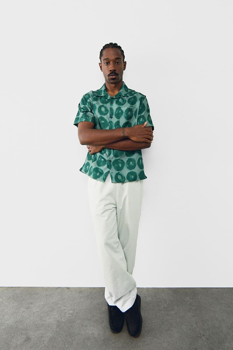 stussy spring 2021 collection lookbook womenswear print pattern short sleeves shirt