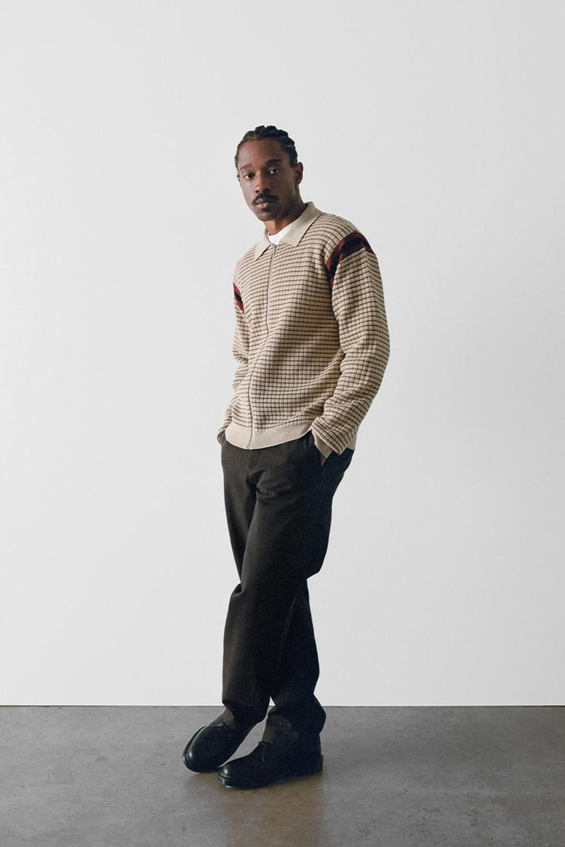 stussy spring 2021 collection lookbook womenswear knit sweater zip up jacket
