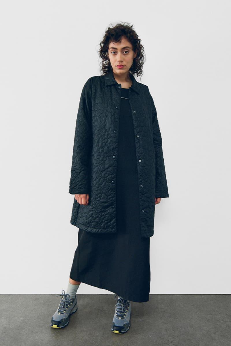 stussy spring 2021 collection lookbook womenswear jacket dress sneakers
