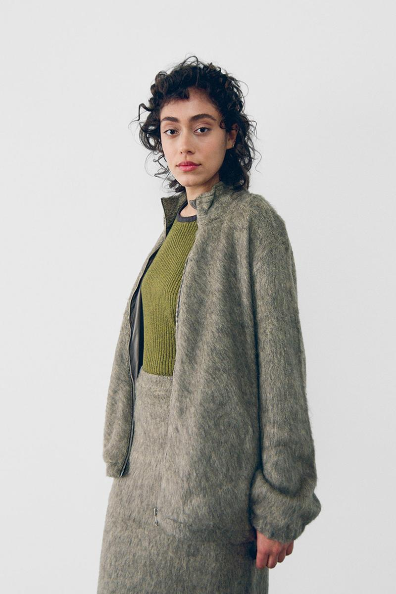stussy spring 2021 collection lookbook womenswear knitwear cardigan skirt