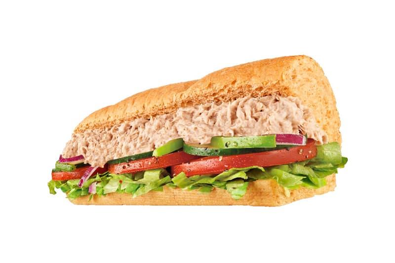 Subway Tuna Salad Sandwich Footlong Sub
