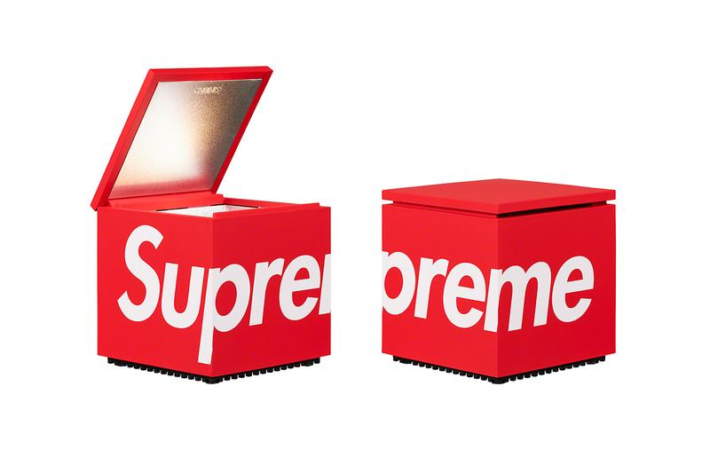 supreme spring summer 2021 ss21 collection drop accessories box