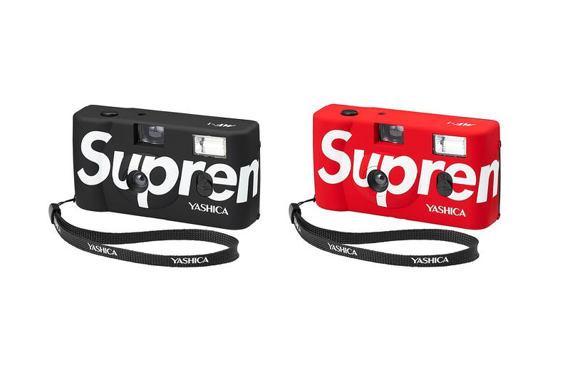 supreme spring summer 2021 ss21 collection drop accessories yashica mf-1 resuable camera red black