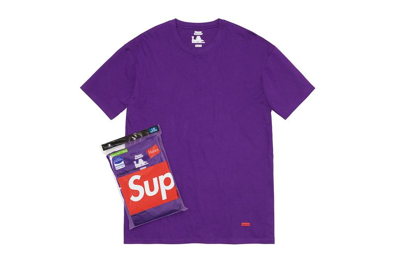 supreme spring summer 2021 ss21 collection drop accessories purple t-shirt pack