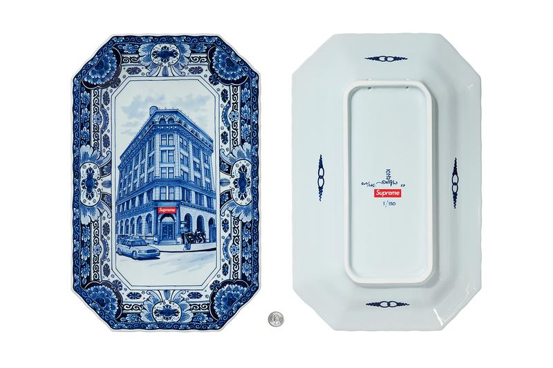 supreme spring summer 2021 ss21 collection drop accessories trinket tray dish royal delft