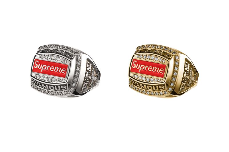 supreme spring summer 2021 ss21 collection drop accessories jostens ring