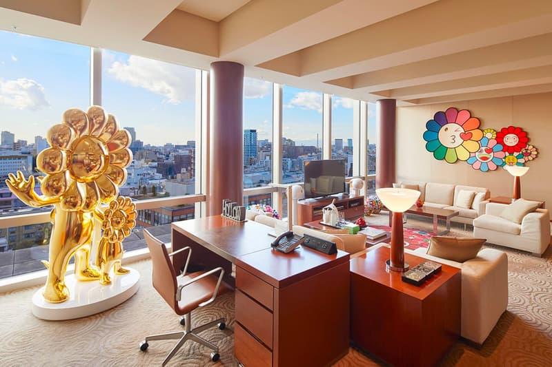 Takashi Murakami Grand Hyatt Hotel Tokyo Suite Room