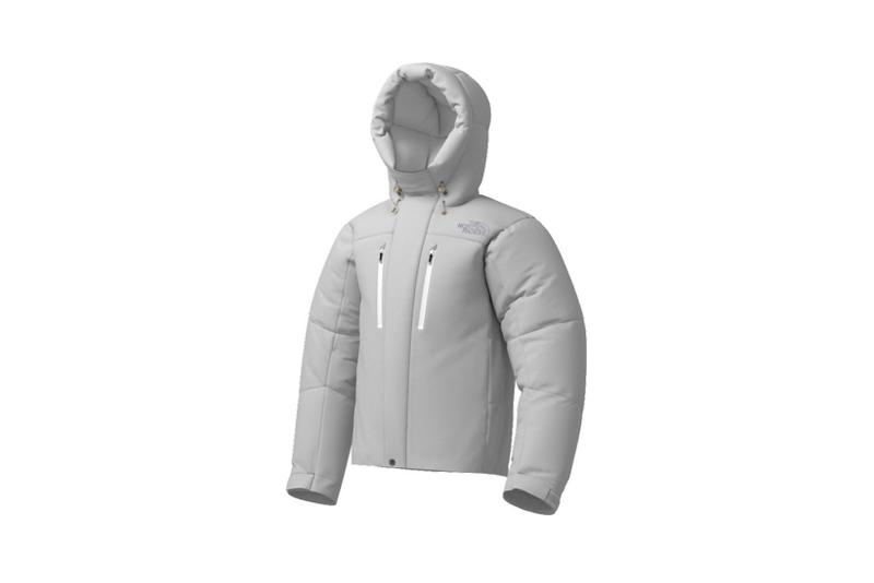the north face japan 141 customs program outerwear jackets gray hood