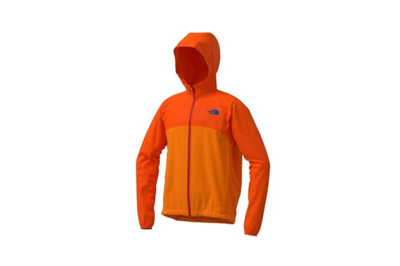 the north face japan 141 customs program outerwear jackets orange hood