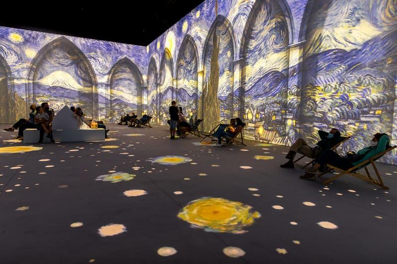 vincent van gogh the immersive digital art experience new york city nyc starry night
