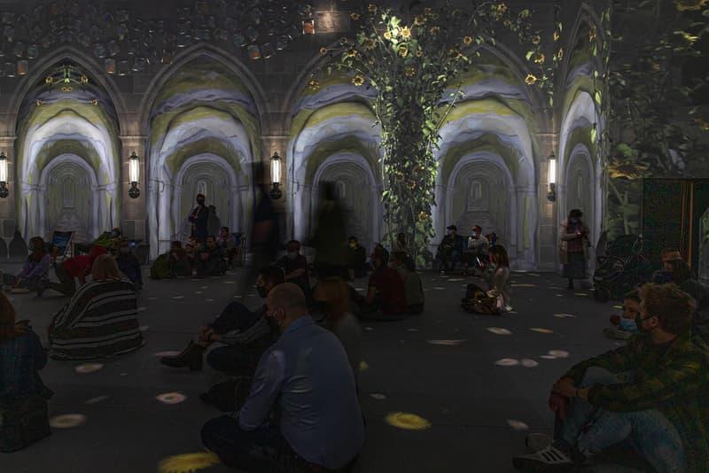 vincent van gogh the immersive digital art experience new york city nyc