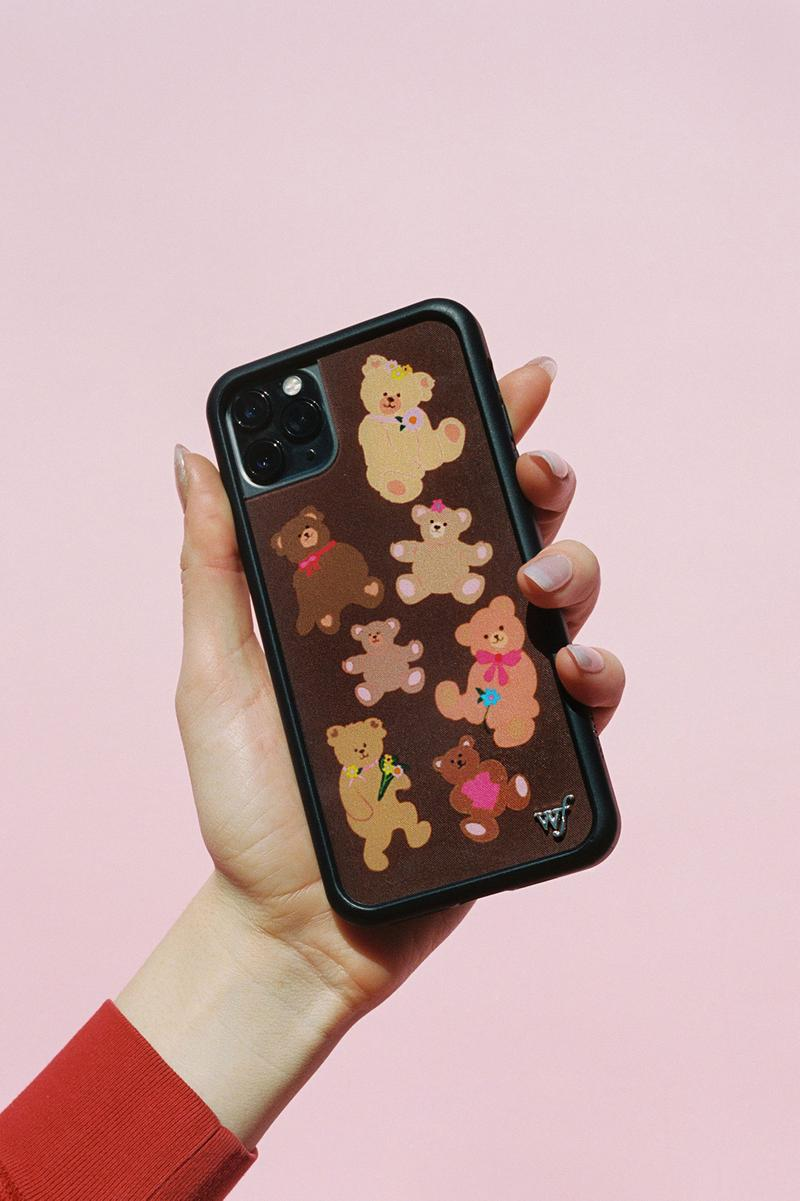 Wildflower Cases Bear-y Cute iPhone Cases Valentine's Day Teddy Bear Phone Lookbook Campaign