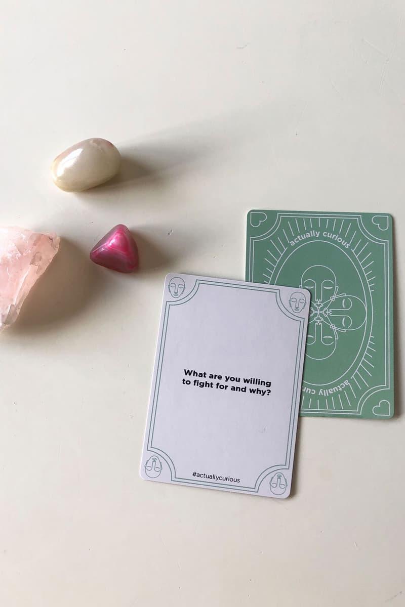 actually curious card game green healing crystals