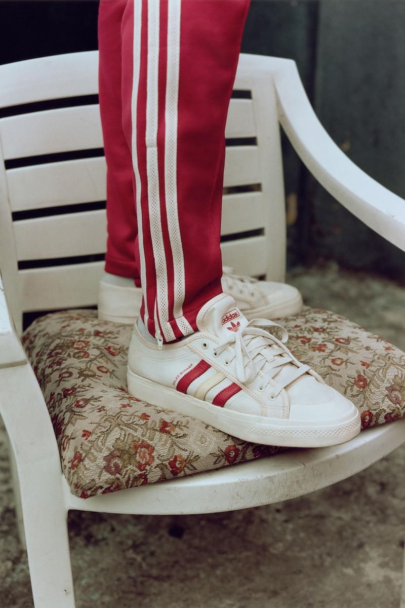 adidas originals wale bonner fall winter collaboration samba sneakers red white