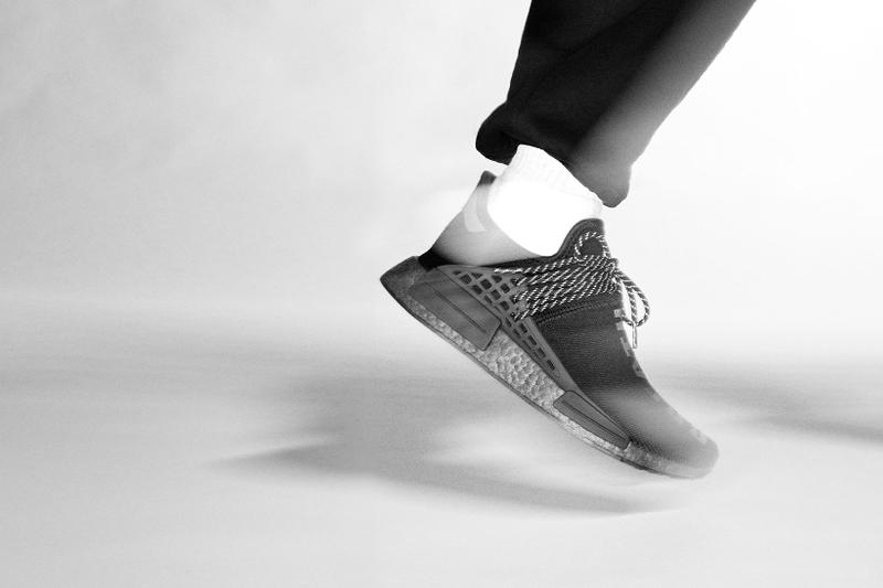 adidas pharrell williams collaboration pw triple black collection hu nmd