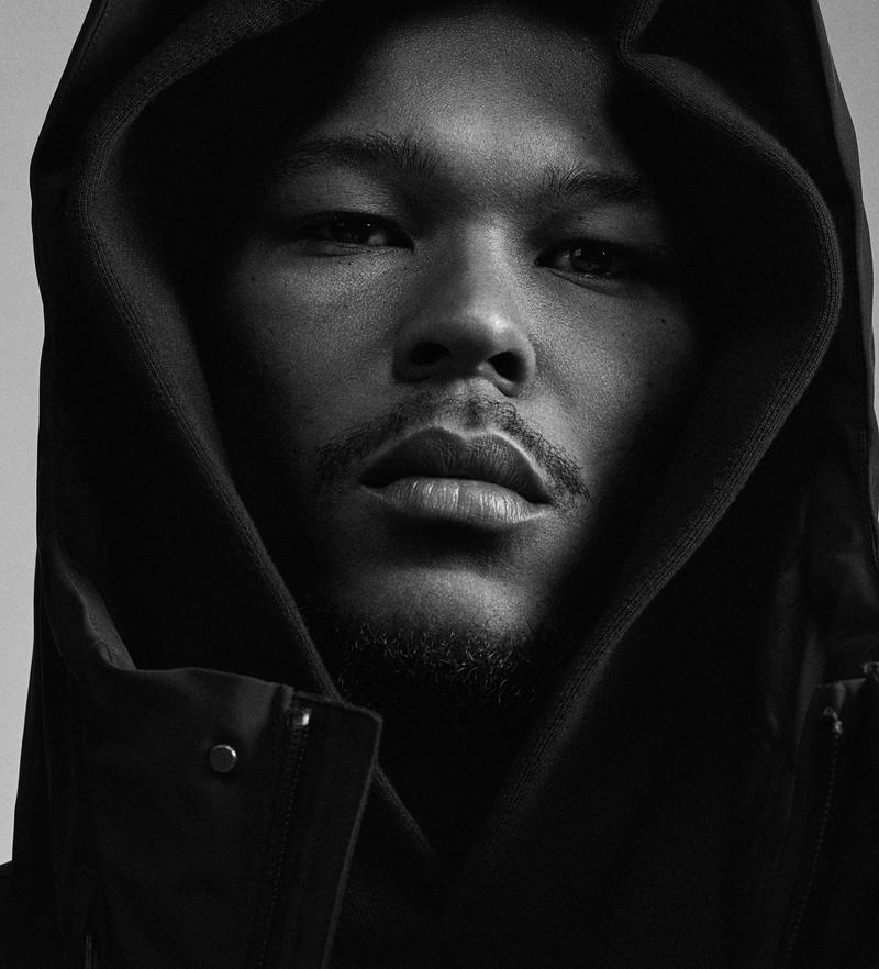 adidas pharrell williams collaboration pw triple black collection portrait
