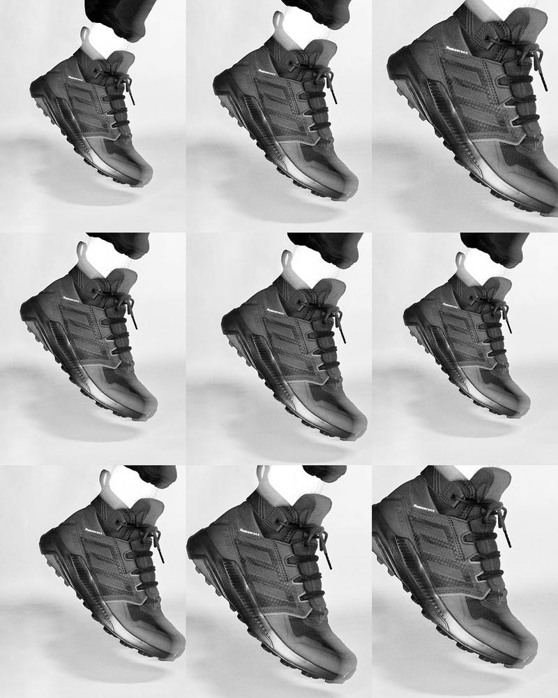 adidas pharrell williams collaboration pw triple black collection terrex trailmaker