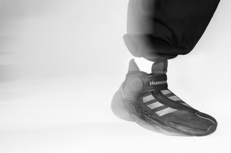 adidas pharrell williams collaboration pw triple black collection terrex freehiker boots