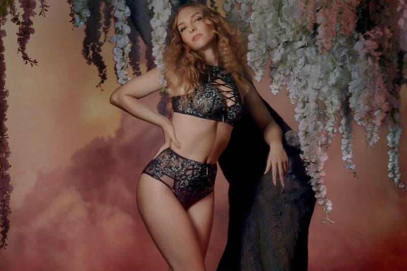 agent provocateur utopia spring summer collection campaign lingerie bra underwear black